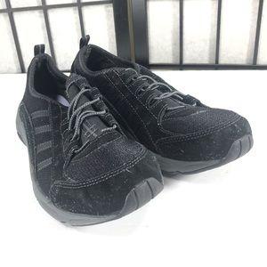 • Easy Spirit Black Slip On Sneaker Shoe Comfort 8